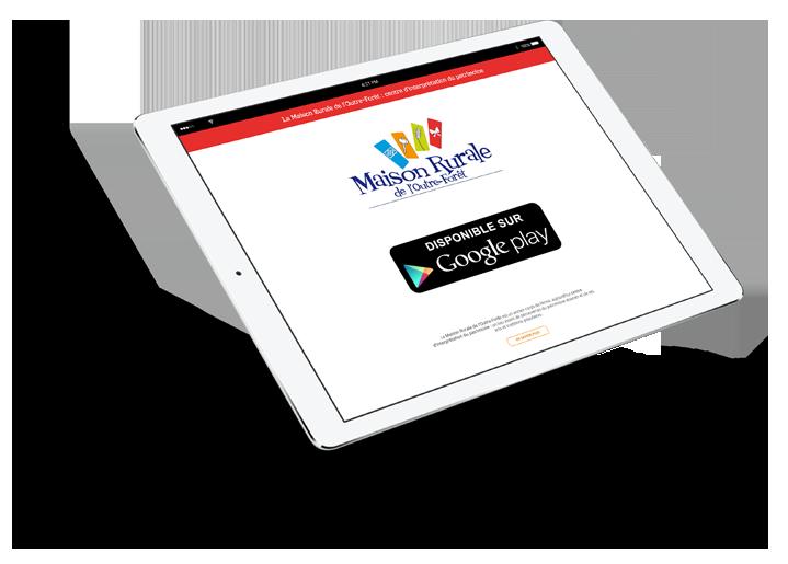 Application de visite disponible sur Google Play