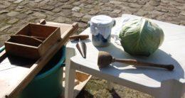 Préparation du chou à choucroute