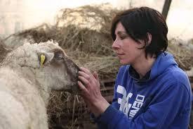 Jeune bergère de Delphine Détrie